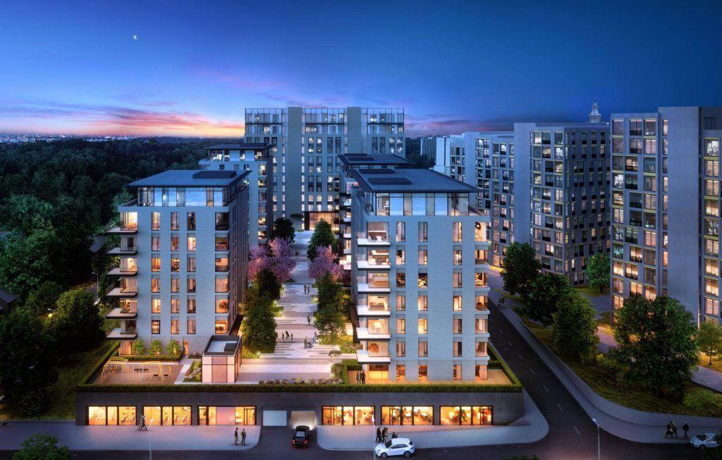 Квартира 84 кв.м. 1 этаж, Мосфильмовская (фото - 1)
