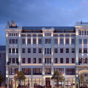 Апартаменты № 25 этаж 5 в особняке «История» (фото - 1)